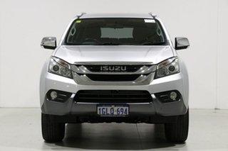 2016 Isuzu MU-X UC MY15.5 LS-T (4x4) Silver 5 Speed Automatic Wagon.
