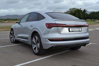 2020 Audi E-Tron GE MY20 55 Sportback Quattro First Edition Silver 1 Speed Reduction Gear Wagon.