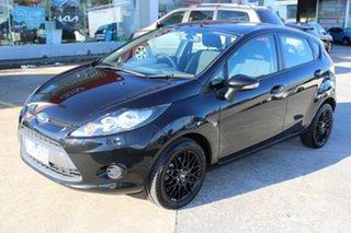 2012 Ford Fiesta WT CL Black 5 Speed Manual Hatchback.