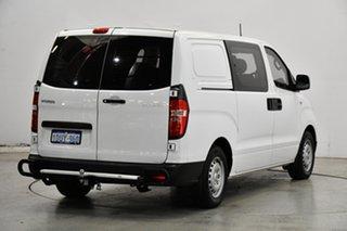 2012 Hyundai iLOAD TQ-V MY12 Crew Cab White 5 Speed Manual Van