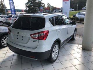 2021 Suzuki S-Cross JY Turbo White 6 Speed Sports Automatic Hatchback.