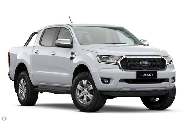 New Ford Ranger PX MkIII 2021.25MY XLT Oakleigh, 2021 Ford Ranger PX MkIII 2021.25MY XLT White 10 Speed Sports Automatic Double Cab Pick Up