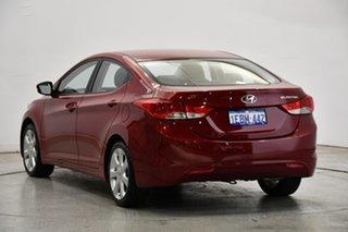 2012 Hyundai Elantra MD Premium Red Allure 6 Speed Sports Automatic Sedan
