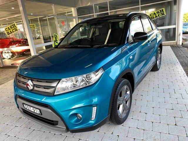 Used Suzuki Vitara Taree, 2017 Suzuki Vitara Green Sports Automatic Wagon