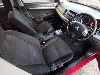 2011 Mitsubishi Lancer CJ MY11 SX Burgundy 6 Speed Constant Variable Sedan