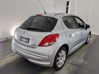 2011 Peugeot 207 A7 Series II MY10 Sportium Grey 4 Speed Sports Automatic Hatchback