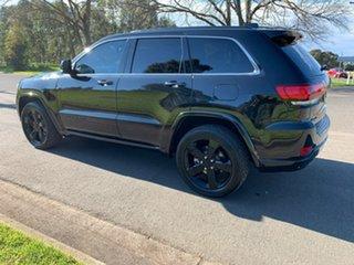 2015 Jeep Grand Cherokee WK Blackhawk Black Sports Automatic Wagon.