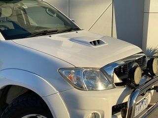 2010 Toyota Hilux KUN26R MY10 SR5 White 4 Speed Automatic Utility