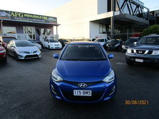 2014 Hyundai i20 PB MY14 Active 4 Speed Automatic Hatchback.