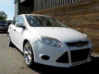 2012 Ford Focus LW Ambiente PwrShift White 6 Speed Sports Automatic Dual Clutch Hatchback.