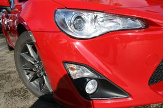 2013 Toyota 86 ZN6 GT Lightning Red 6 Speed Manual Coupe.