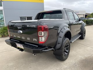 2016 Ford Ranger PX MkII Wildtrak Double Cab Black/290716 6 Speed Sports Automatic Utility.