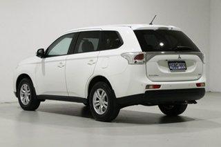 2013 Mitsubishi Outlander ZJ LS (4x4) White 6 Speed Automatic Wagon
