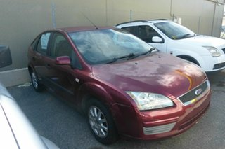 2006 Ford Focus LS LX Red 5 Speed Manual Hatchback.