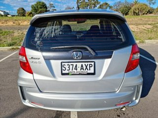 2013 Honda Jazz GE MY13 Vibe-S Silver 5 Speed Automatic Hatchback