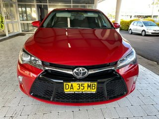 2015 Toyota Camry Atara S Red Sports Automatic Sedan.