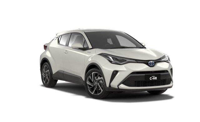 New Toyota C-HR ZYX10R Koba (2WD) (Hybrid) St George, 2021 Toyota C-HR ZYX10R Koba (2WD) (Hybrid) White Continuous Variable Wagon