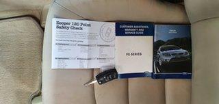 2009 Ford Falcon FG G6E Silver 6 Speed Sports Automatic Sedan