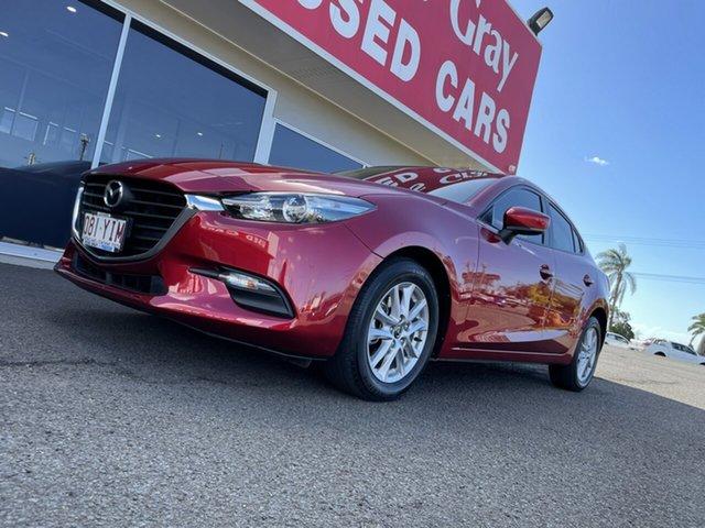 Used Mazda 3 BN5278 Neo SKYACTIV-Drive Sport Bundaberg, 2018 Mazda 3 BN5278 Neo SKYACTIV-Drive Sport Red 6 Speed Sports Automatic Sedan