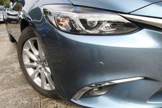2016 Mazda 6 6C MY15 Touring Dark Blue 6 Speed Automatic Sedan.