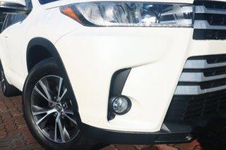 2017 Toyota Kluger GSU50R GX 2WD White 8 Speed Sports Automatic SUV.