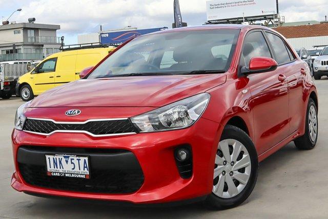 Used Kia Rio YB MY19 S Coburg North, 2018 Kia Rio YB MY19 S Red 4 Speed Sports Automatic Hatchback