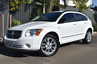 2011 Dodge Caliber PM MY11 SXT White 6 Speed Constant Variable Hatchback.
