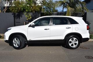 2013 Kia Sorento XM MY14 Si 4WD Pearl White 6 Speed Sports Automatic Wagon.