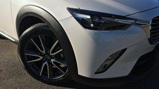 2016 Mazda CX-3 DK2W7A Akari SKYACTIV-Drive White 6 Speed Sports Automatic Wagon.
