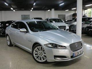 2012 Jaguar XF X250 MY12 Premium Luxury Silver 8 Speed Sports Automatic Sedan.