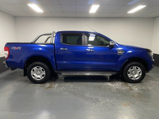 2016 Ford Ranger PX MkII XLT Double Cab Aurora Blue 6 Speed Sports Automatic Utility
