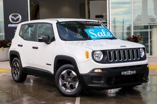 2016 Jeep Renegade BU MY16 Sport DDCT White 6 Speed Sports Automatic Dual Clutch Hatchback.