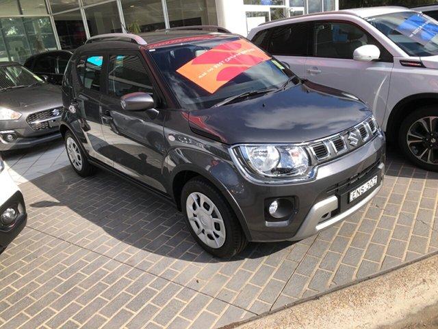 Demo Suzuki Ignis MF Series II GL Maitland, 2021 Suzuki Ignis MF Series II GL Mineral Grey 1 Speed Constant Variable Hatchback