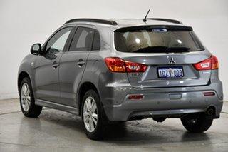 2012 Mitsubishi ASX XA MY12 Aspire Silver 6 Speed Constant Variable Wagon