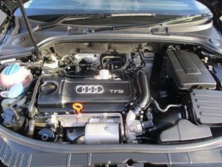 2011 Audi A3 8P MY11 Sportback 1.4 TFSI Attraction Black 7 Speed Auto Direct Shift Hatchback