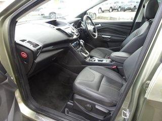 2013 Ford Kuga TF Titanium PwrShift AWD Ginger Ale 6 Speed Automatic Wagon