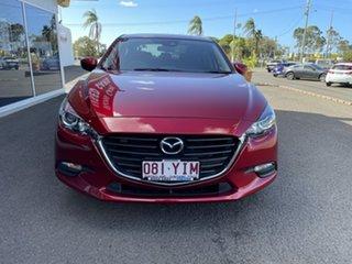 2018 Mazda 3 BN5278 Neo SKYACTIV-Drive Sport Red 6 Speed Sports Automatic Sedan