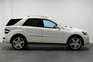 2011 Mercedes-Benz M-Class W164 MY10 ML350 AMG Sports White 7 Speed Sports Automatic Wagon
