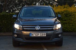 2012 Volkswagen Tiguan 5N MY12.5 155TSI DSG 4MOTION Grey 7 Speed Sports Automatic Dual Clutch Wagon.