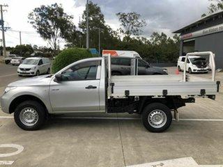 2015 Mitsubishi Triton MQ MY16 GLX 4x2 Silver 5 Speed Manual Cab Chassis