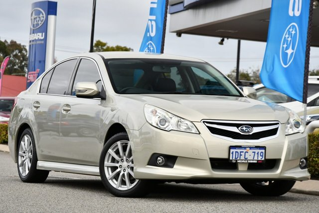 Used Subaru Liberty B5 MY10 2.5i Lineartronic AWD Melville, 2010 Subaru Liberty B5 MY10 2.5i Lineartronic AWD Sunlight Gold Opal 6 Speed Constant Variable Sedan