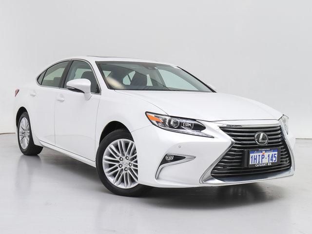 Used Lexus ES 350 GSV60R MY16 Luxury, 2016 Lexus ES 350 GSV60R MY16 Luxury White 6 Speed Automatic Sedan