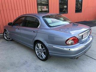 2007 Jaguar X-Type X400 MY07 LE Blue 5 Speed Automatic Sedan.
