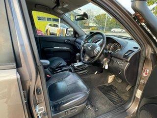 2014 Mitsubishi Triton MN MY15 GLX-R Double Cab Warrior Brown 5 Speed Sports Automatic Utility.