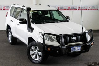 2017 Toyota Landcruiser Prado GDJ150R MY17 GX (4x4) Glacier White 6 Speed Automatic Wagon.
