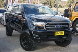 2020 Ford Ranger PX MkIII 2020.25MY XLS Black 6 Speed Sports Automatic Double Cab Pick Up.
