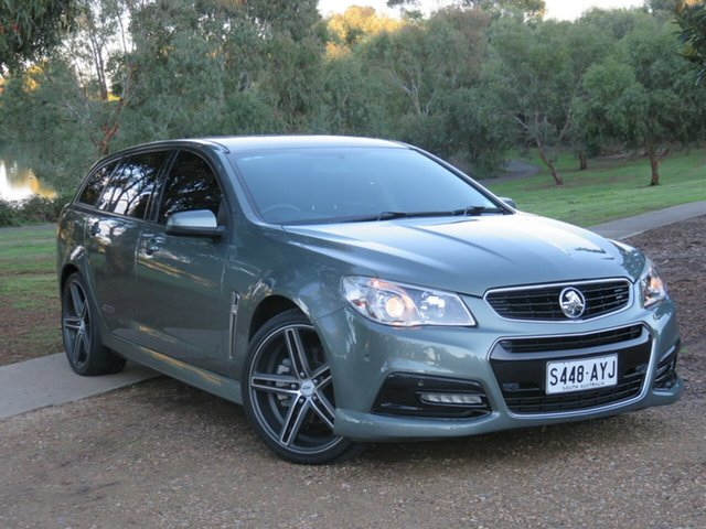Used Holden Commodore VF MY14 SS Sportwagon Morphett Vale, 2013 Holden Commodore VF MY14 SS Sportwagon Prussian Steel/charc 6 Speed Sports Automatic Wagon