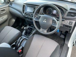 2017 Mitsubishi Triton MQ MY17 GLX 4x2 5 Speed Manual Cab Chassis.