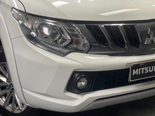 2017 Mitsubishi Triton MQ MY17 GLS Double Cab White 5 Speed Sports Automatic Utility.