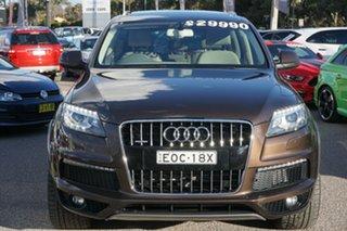 2014 Audi Q7 4L MY15 TDI Tiptronic Quattro Brown 8 Speed Sports Automatic Wagon.